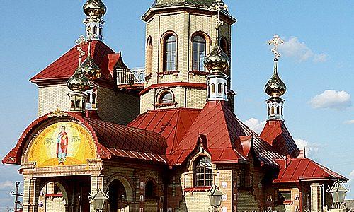 В селе Дмитриевка расположен уникальный храм